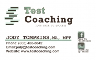 test coaching