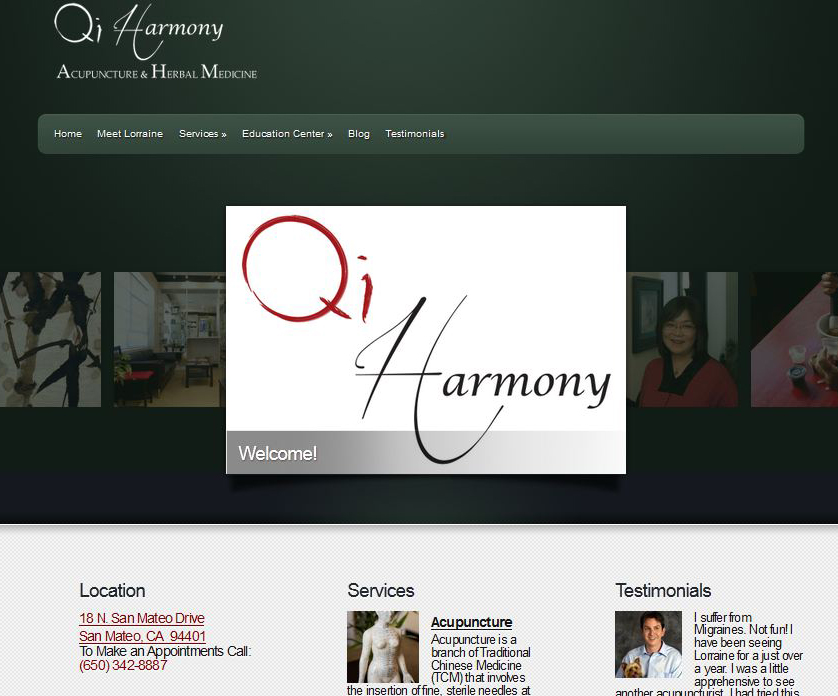 Harmony website